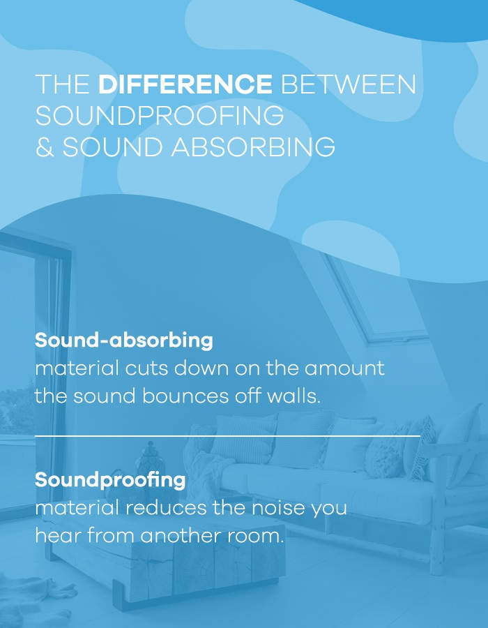 Difference Between Soundproofing & Sound Absorbing