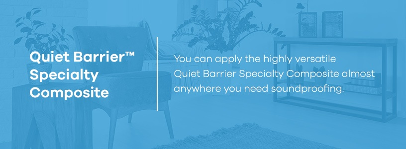 Quiet Barrier Specialty Composite for Soundproofing HVAC Systems