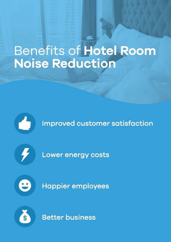 Benefits of Hotel Room Noise Reduction