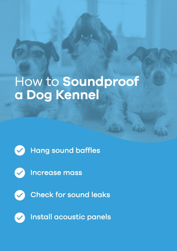 How to Soundproof a Dog Kennel
