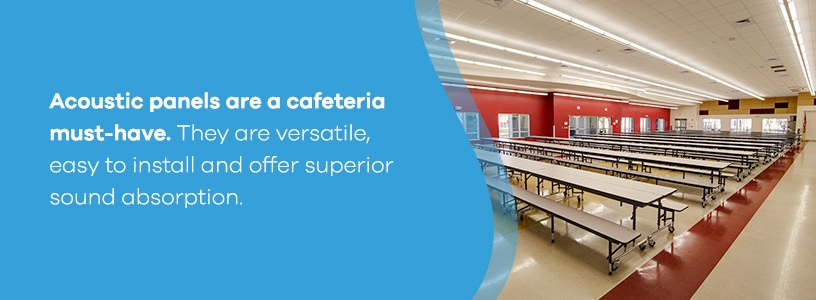 Acoustic Panels for Cafeterias