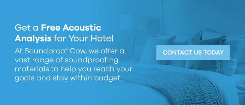 Get a Free Acoustic Analysis for Your Hotel