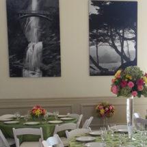 acoustic art panels at wedding venue