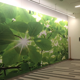 green wall soundproofing panel
