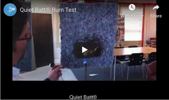 Quiet Batt® Burn Test