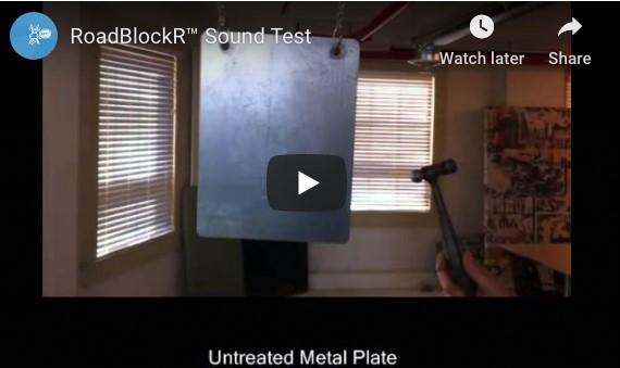 RoadBlockR™ Sound Test