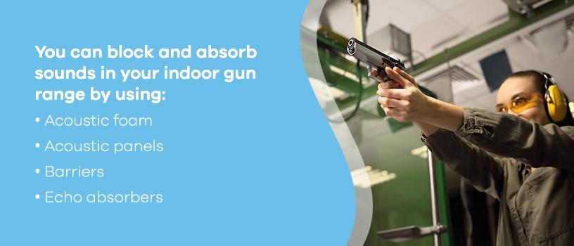 Block and Absorb Sound in Your Indoor Gun Range