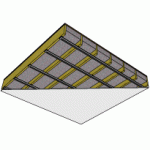 ceiling soundproofing assembly