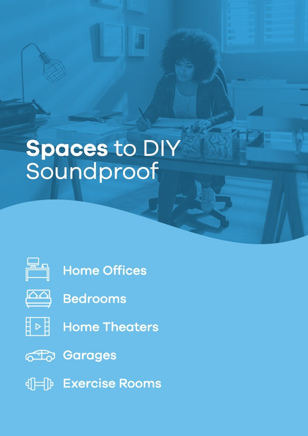 Spaces to DIY Soundproof