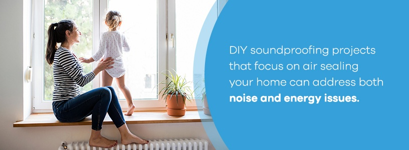 DIY soundproofing projects