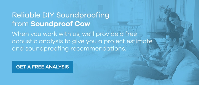 DIY soundproofing from Soundproof Cow