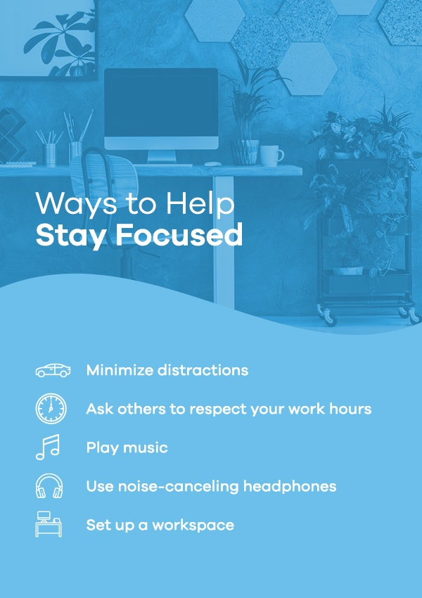 Ways to Help Stay Focused