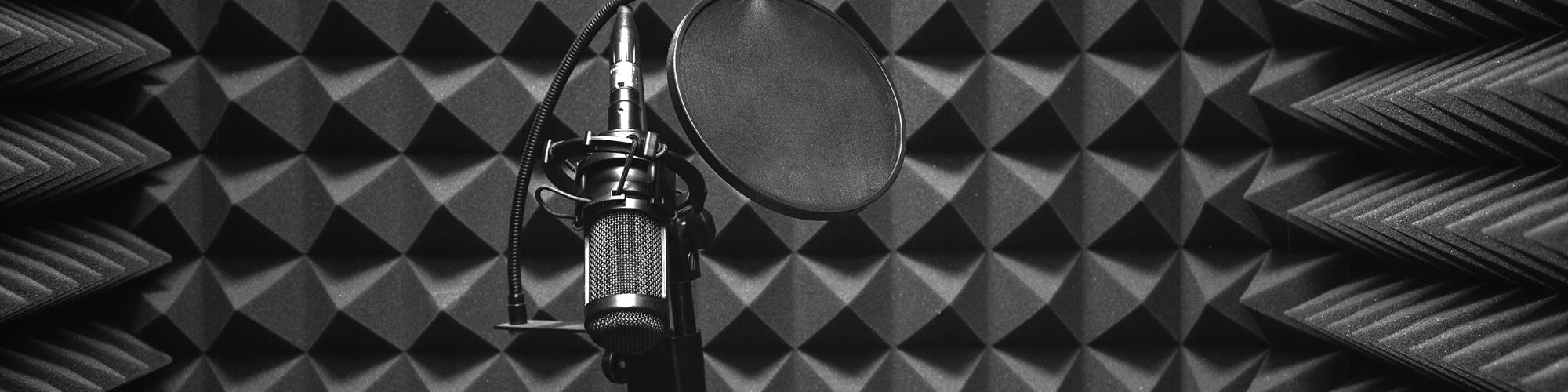 soundproofing foam in recording studio