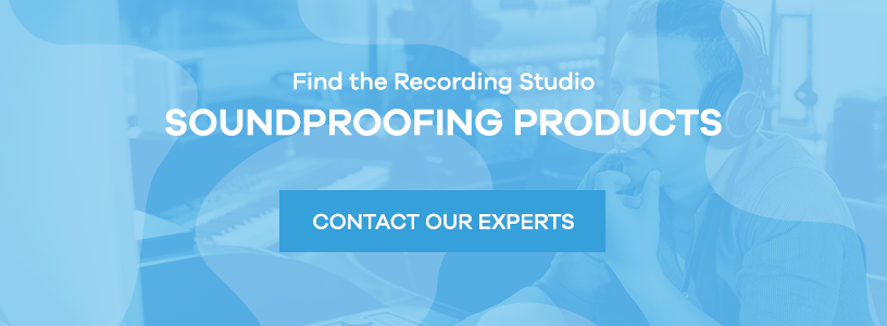 Find recording studio soundproofing products