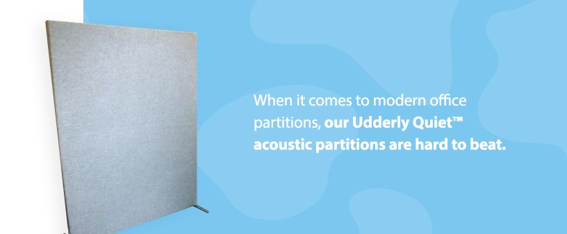Udderly Quiet™ Acoustic Partitions