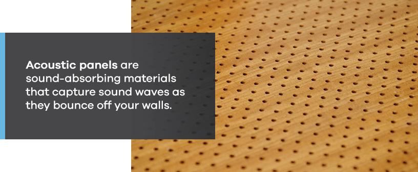 Acoustic Panels Capture Sound Waves