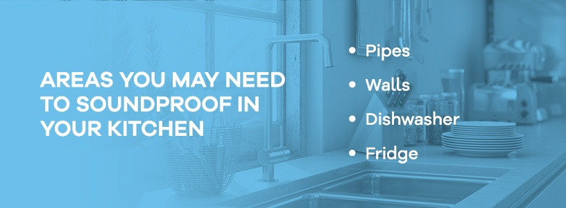 Areas to Soundproof in Your Kitchen