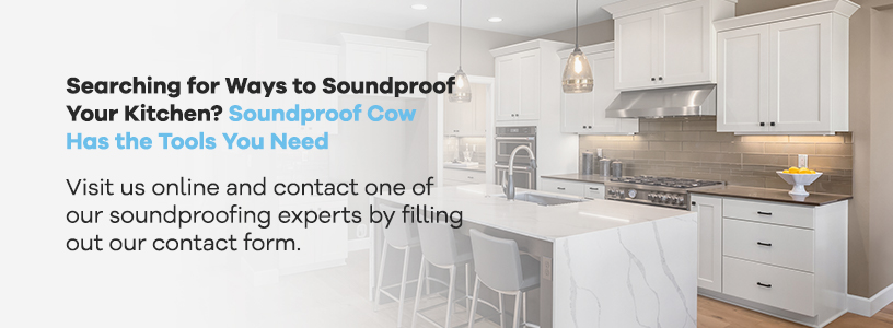 Soundproof Cow Has the Tools to Soundproof Your Kitchen
