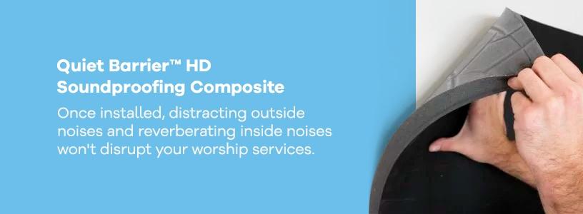 Quiet Barrier™ HD Soundproofing Composite