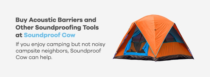 Buy Acoustic Barriers for Tents at Soundproof Cow