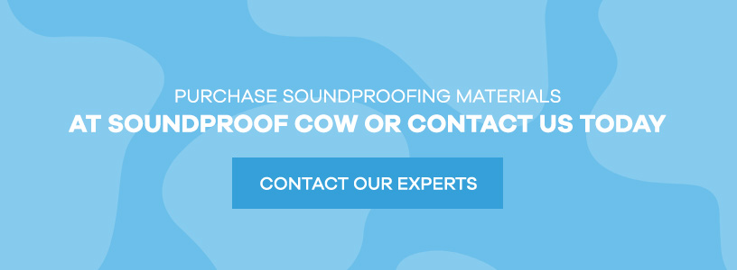 purchase soundproofing materials at Soundproof Cow