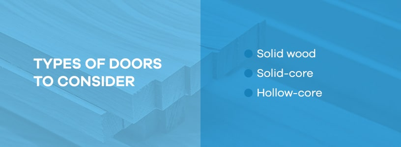 Types of Doors to Consider