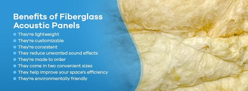 Benefits of Fiberglass Acoustic Panels