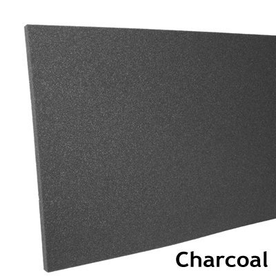 Acoustic Foam Panel 1 inch Charcoal