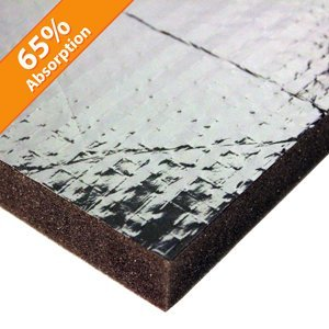 Acoustic Foam Panel Reinforced Aluminum