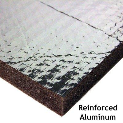 Acoustic Foam Panel Reinforced Aluminum Faced