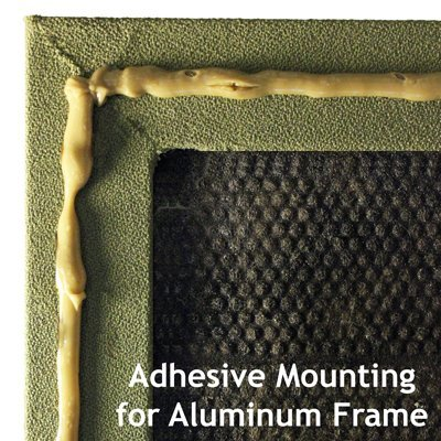 Acoustic Panel with Aluminum Frame Adhesive Mount