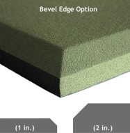 Acoustic Panel Bevel Edge