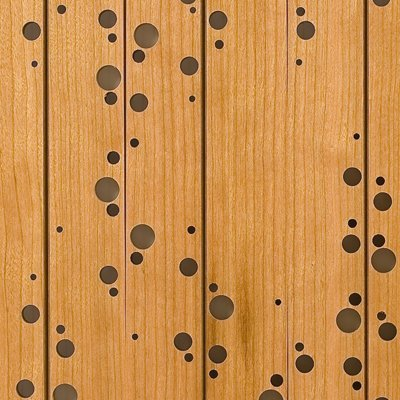 Eccotone Acoustic Wood Panel - DNA Detail