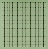 Eccotone Acoustic Wood Panel - Grid Custom Paint Color