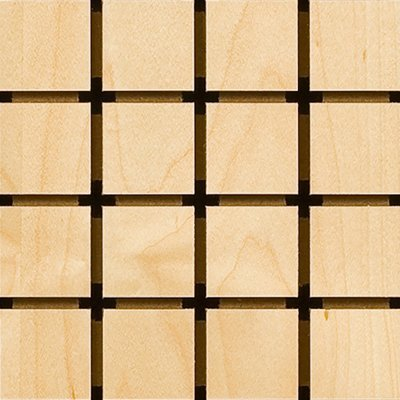 Eccotone Acoustic Wood Panel - Grid Detail