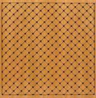 Eccotone Acoustic Wood Panel - Grid Diamond