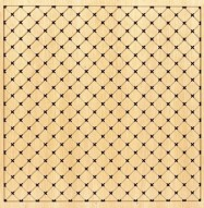 Eccotone Acoustic Wood Panel - Grid Diamond Clear Maple Finish
