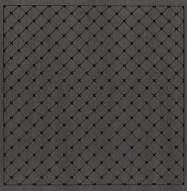 Eccotone Acoustic Wood Panel - Grid Diamond Ebony Finish