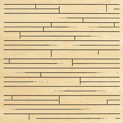 Eccotone Acoustic Wood Panel - Hardwood