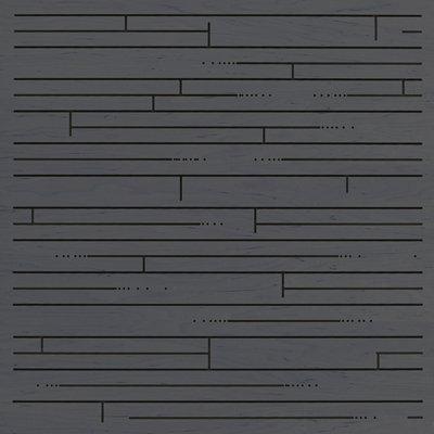 Eccotone Acoustic Wood Panel - Hardwood Ebony Finish
