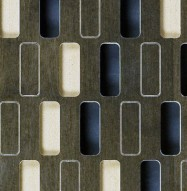 Eccotone Acoustic Wood Panel - Highrise Detail