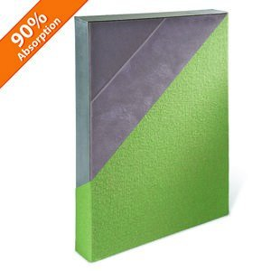 Acoustic Panel Impact Resistant with Aluminum Frame