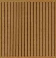 Eccotone Acoustic Wood Panel - Linear 133 Dark Natural Finish