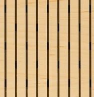 Eccotone Acoustic Wood Panel - Linear 133 Detail