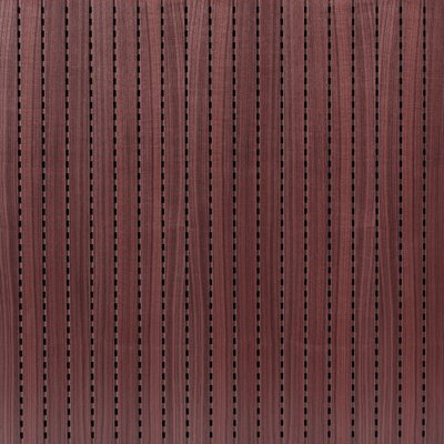 Eccotone Acoustic Wood Panel - Linear 284 Black Mahogany Finish