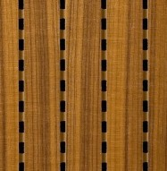 Eccotone Acoustic Wood Panel - Linear 284 Detail
