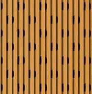 Eccotone Acoustic Wood Panel - Linear 53 Detail