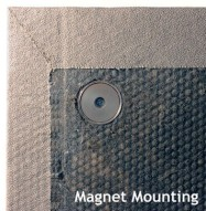 Acoustic Panel Magnet Mount