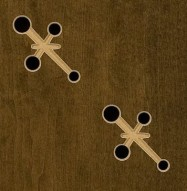 Eccotone Acoustic Wood Panel - Novalty Detail
