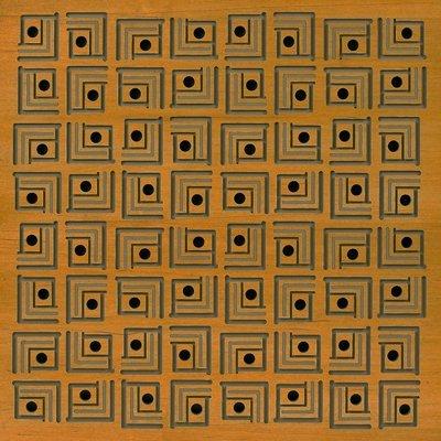 Eccotone Acoustic Wood Panel - Pagoda Autumn Finish
